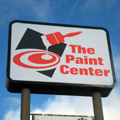 paint center sign